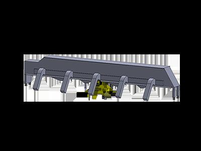 Réparation de superstructure et de caisson